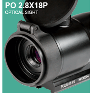 Optical sight PO 2.8X18P